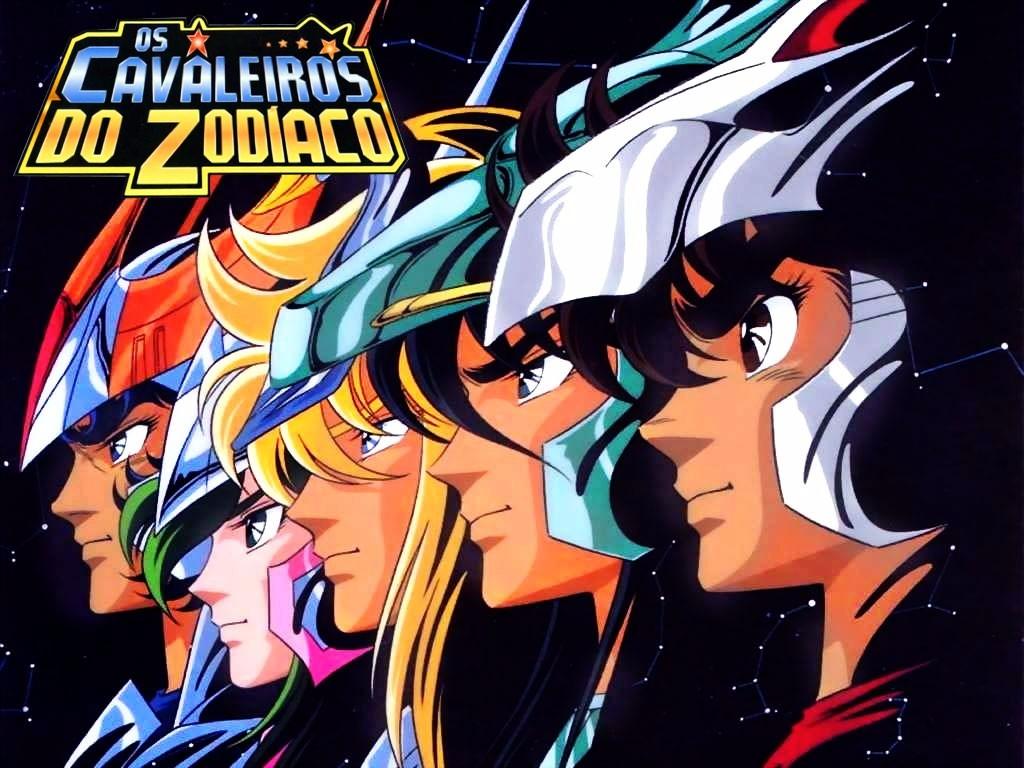 Os cavaleiros do zodíaco anime personagens nostalgia Rede Manchete
