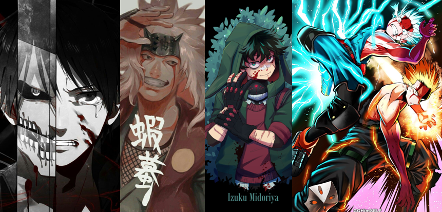 Wallpapers incríveis do mundo dos animes